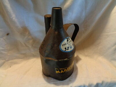 Large Teapot Miner Tin Oil Powder Cap Lamp Antique Mining Stickers Tag #38 Coal