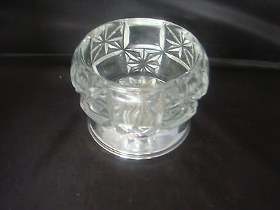 Art Decosilver Plate Sugar Bowl Marked Made In England Celtic Quality Plate Base