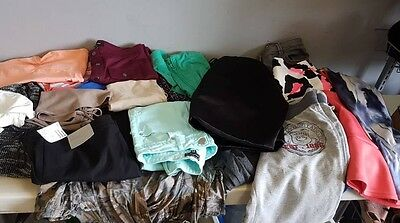 Womans size 8 10 12 14 16 clothes bundle joblot jeans dresses tops used