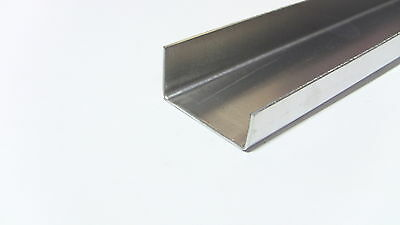 Aluminum Fabricated Channel .050 x .5 x 1.5 x .75 x 48 in. Offset 3003 (4pcs)