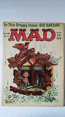 MAD #55 (Jun 1960, EC)