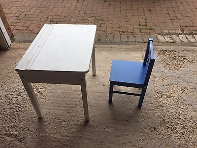 Ikea Children Desk And Chair Age 2-5