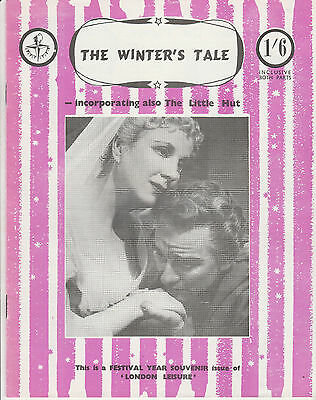 The Winter's Tale Incorporating The Little Hut - Festival Year Souvenir Issue
