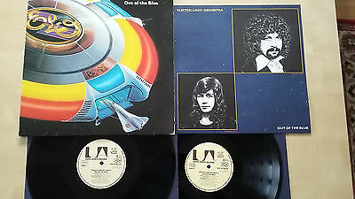 Electric Light Orchestra - Out Of The Blue - 2Lp - D 1977 - Ois - Poster