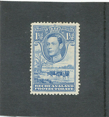 Bechuanaland Protectorate KGVI 1938 1 1/2d dull blue SG120 MM