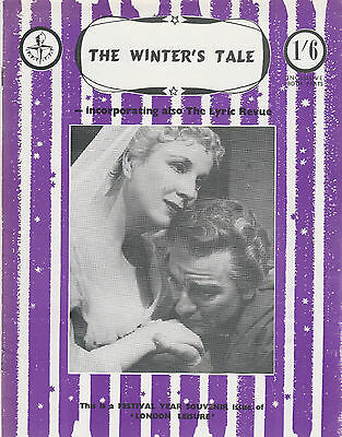 The Winter's Tale Incorporating Thelyric Revue - Festival Year Souvenir Issue