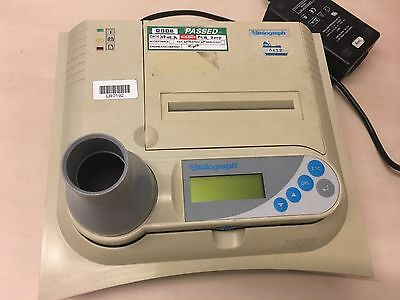 Vitalograph 2120 digital spirometer + Printer and power supply