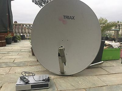 Motorised Satellite System With Arion HD Receiver And 1m Dish