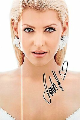 Sarah Nowak Big Brother Playboy RTL Foto 20x30 Autogramm signiert IN PERSON