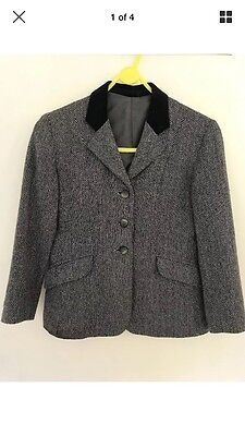 Tweed Show Jacket Child 28 Ages 8-9 Years.