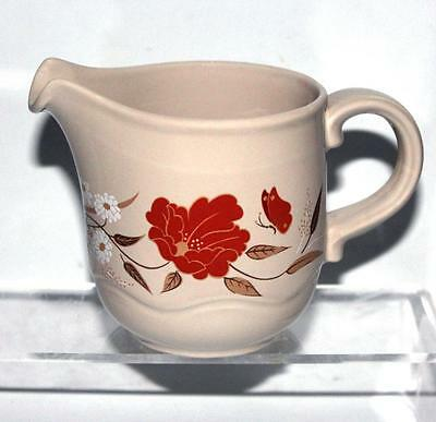 Poole Pottery Kismet Pattern Milk Jug made in the Style Shape White Earthenware