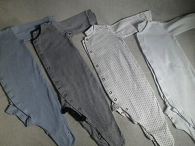 boys next sleepsuits 6 to 9 months pre owned