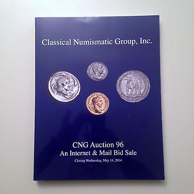 CNG Printed Auction 96 Ancient Greek / Roman Coin Catalog