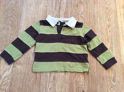 1 x Baby boys Rugby Style Top, 12-18 months Approx, Red herring, Debenha
