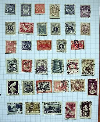 Poland. Collection of 34 stamps.