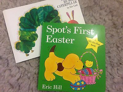Bundle Of Childrens Books - Spot's First Easter And The Very Hungry Caterpillar