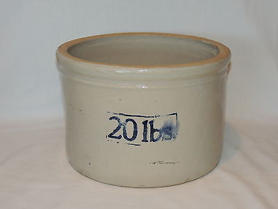 Vintage Red Wing 20 Pound Butter Crock ~ RARE