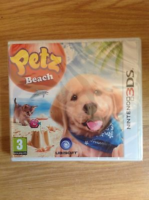 Petz Beach Nintendo 3DS NEW and Sealed