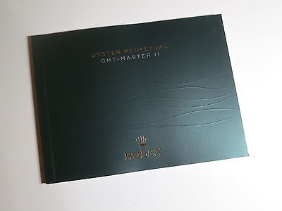 ♛ Authentic ROLEX ♛ 2013 Watch GMT Master II Ceramics Manuals & Guides Booklet