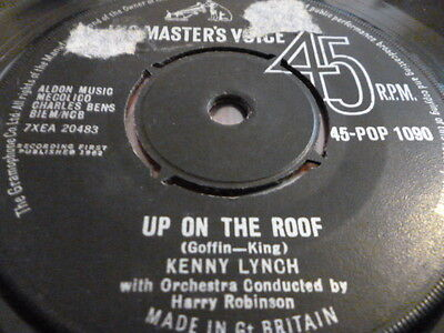 Kenny Lynch...up On The Roof........vg Cond...