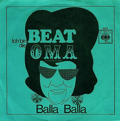 Ich Bin Die Beat – Oma – Beatles Cover - German – Obscure - Ex!!!