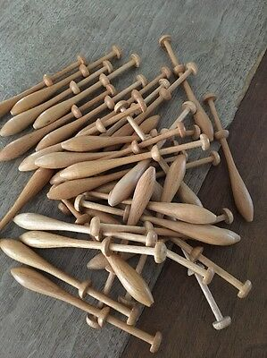 "Swedish Lace Bobbins 4""   36"