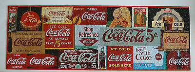 Coca-Cola Jigsaw Puzzle in Round Tin Complete