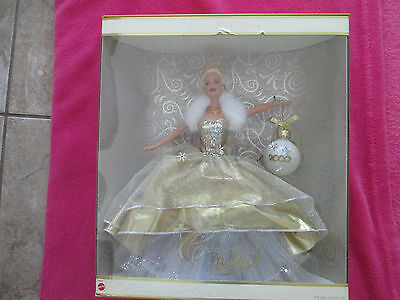 Celebration Barbie Holiday 2002 NIB