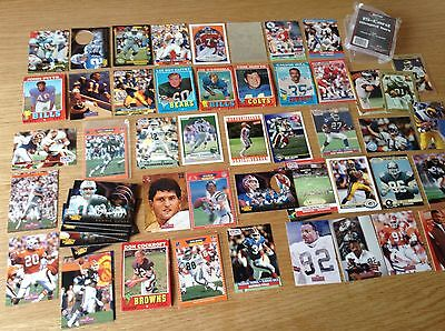 Job Lot of 300+ NFL American football Trading Cards