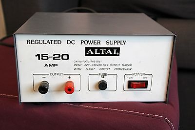 Altai Regulated DC Power Supply 13.8V DC 15-20 Amps