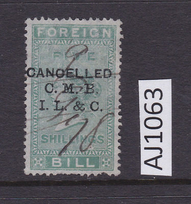 Selection of British Revenue Fiscal Stamps - AA1308