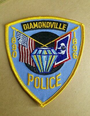 Diamondville, Wyoming Police Shoulder Patch Wy