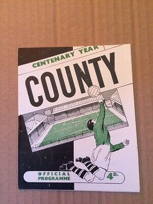 Notts County V Margate FA Cup 1961-1962