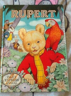 Rupert the Daily Express Annual Express Newspapers 1987
