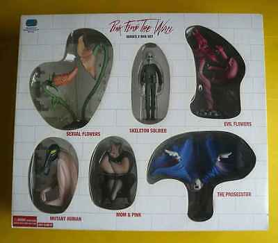 Pink Floyd The Wall Series 2 / New 3D Figures / 6 Maquettes L.T.D Box Set