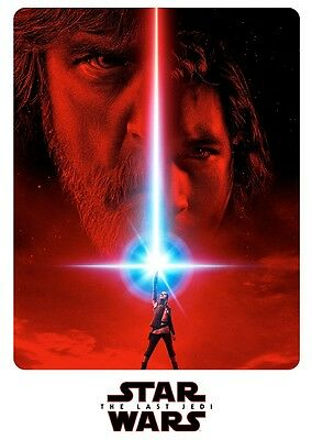 Unofficial Star Wars THE LAST JEDI (42) *Glossy A4 print Poster - Episode 8