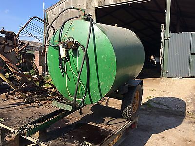 Towable bunded bowser tank diesel fuel paraffin