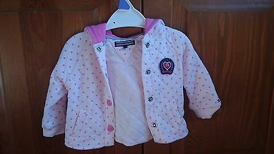 baby girl up to 3 months brand new tommy hilfiger jacket