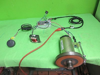 2.25 HP treadmill  DCmotor, complete setup,w/ controller, cables, many projects