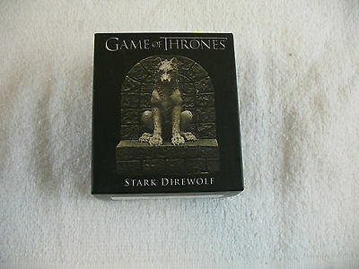 Game of Thrones Mini statue Stark Direwolf Running Press