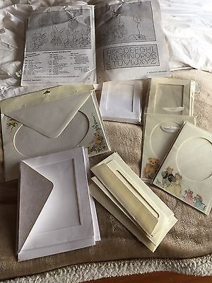 Cross Stitch Mounts/cards And Envelopes