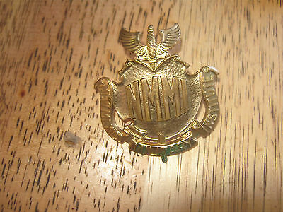 Vintage New Mexico Military Institute Hat Badge