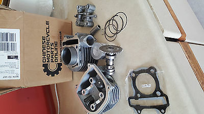 152QMI Cylinder Kit 125cc Chinese Scooter Engine Parts