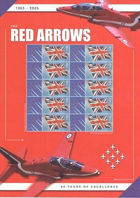 BC-056 2005 Red Arrows Business Smilers Sheet- mint condition