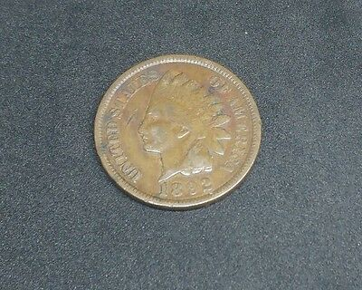 1892 - Indian Head - One Cent Coin - United States of America