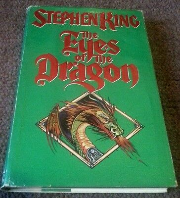 The Eyes of the Dragon by Stephen King 1987 Hardcover Book First Edition Used