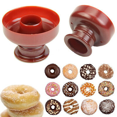 Nice Doughnut Donut Maker Biscuit Mould Cake Bread Bakery Fondant Baking Tool