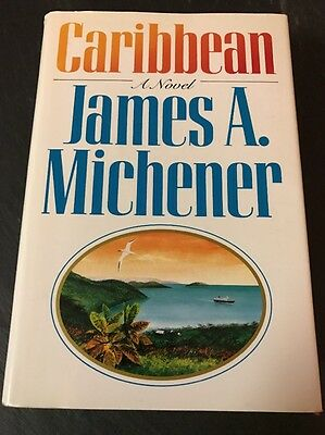 Texas / Caribbean / Legacy by James Michener - Lot of 3- 2 1st ed.
