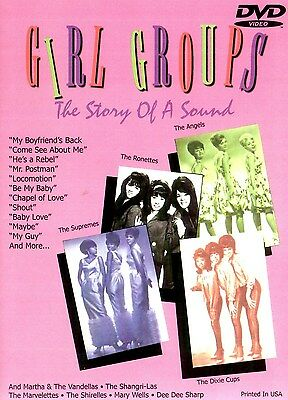Girl Groups The Story Of A Sound DVD New & Factory sealed