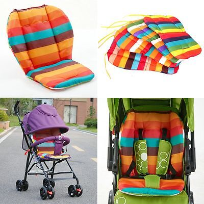 Waterproof Car Seat Baby Stroller Cushion Kids Rainbow Pads Chair Carriage Mat